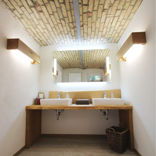 Neugestaltung einer Damentoilette durch Wohnwert Innenarchitektur