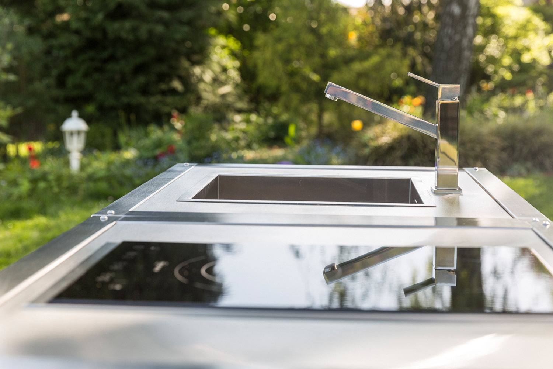Detail Spüle Blanco der mobilen Küche neoculina von Wohnwert Innenarchitektur