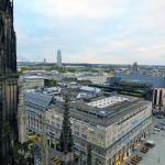Über den Dächern von Köln.