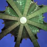 Die Kuppel der Aussichtsplattform.